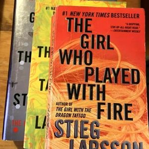 Girl With Dragon Tattoo Book Series Movie Novel TV